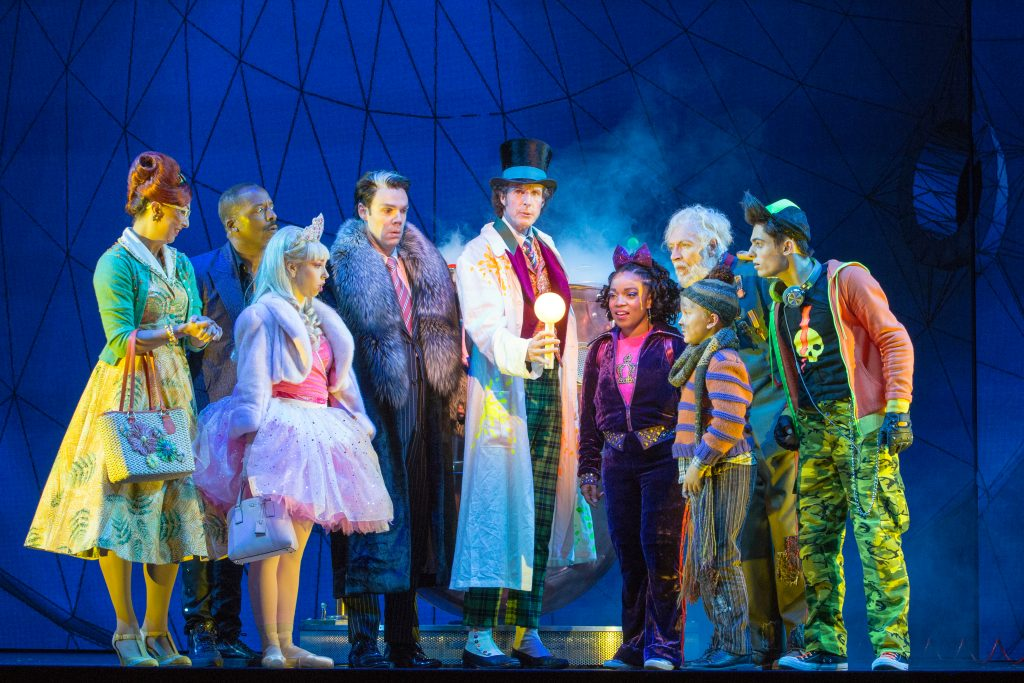 West-End-Central-Apartments-Willy-Wonka-cast-on-stage